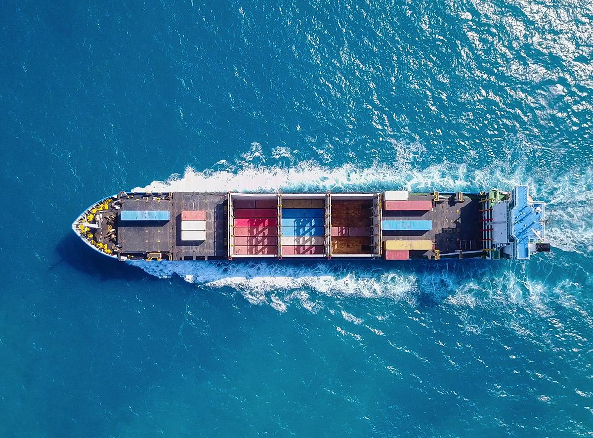 ספינה בים